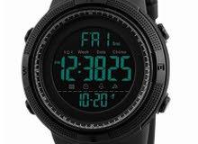 ساعة رياضية رقمية بسوار من السيليكون طراز WT-SK-1251-B#D3 للرجال