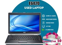 "laptop dell E6420 core i5 2 gen 4g ram 500g hdd 14""monitor"