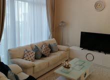 دبي مارينا شقة 3 غرف وصالة مفروشة سوبر لوكس مع بلكونة - ايجار شهري شامل