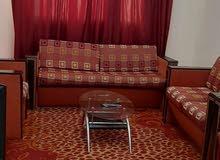 لايجار الشهري شقه غرفه وصاله مفروشه نظيفه جدا بالروضه