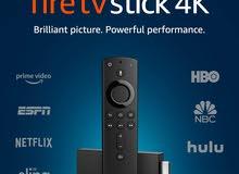 أمازون فاير ستك مع ريموت التحكم اليكسا Amazon Fire TV Stick 4k with Alexa Voice Remote 449.00SAR