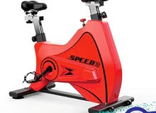 spinning bike red