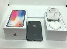 iPhone X 64 GB  Black Like new Full box1150