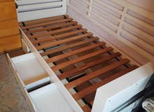 Bed with 3 drawers from ikea