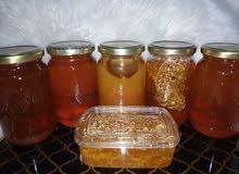 عسل طبيعي 100%ومضمون