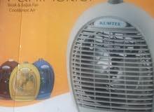 دفاية كهرباءية  تركي بمروحة لتوزيع الهواء  الساخن  1000