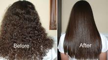 مختص  شعر بروتين والكرايتن والكولاجين  بياع وتنفيذ رجالي ونسائي