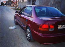Manual Maroon Honda 1999 for sale