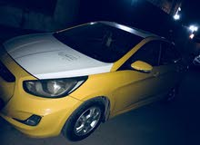 Hyundai Excel 2014 For sale - Yellow color