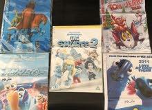 جهاز DVD و 5 افلام