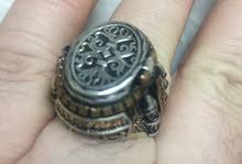 خاتم فضة سلطاني
