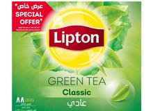 Lipton green tea 88 pcs
