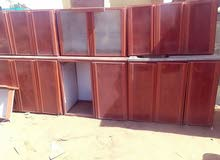 مطبخ المونيوم بالرخام 3 متر تحت وفوق