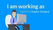 مصمم جرافيك فري لانس Freelance Graphic Designer