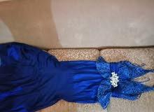 فستان سهره تركواز ماركة Three N التركية
