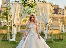 لأجمل عروسه اجمل وارقى فساتين زفاف ايجار او بيع بسعر مناسب