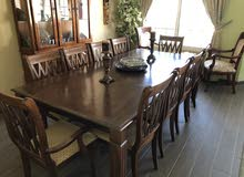 Dining table (10 seaters) + Dresser