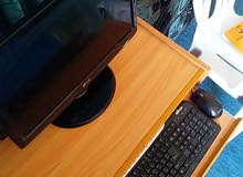 كمبيوتر مكتبيLG نظيف مايشكي من شئ