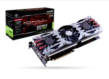 Gtx 960 inno3d ichill 3xfan airboss graphics card for sale!