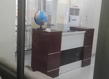 مكتب تجاري مؤثث في شارع الربيعي
