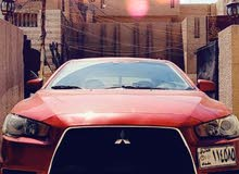 Automatic Red Mitsubishi 2009 for sale