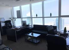 مكاتب للايجار مؤثثة بالكامل مع جميع خدمات بالكويت بجوار فندق شيراتون