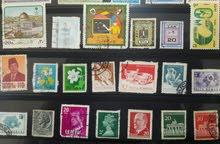 20 طابع بريد لمحبي الطوابع القديمة النادرة تنزيل السعر لمدة يوم Old Stamps