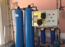 تصنيع محطات تحلية وتعقيم المياه ، تصميم حسب الطلب، مواصفات حسب الطاب ،