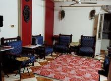 شقة عقد مفتوح 81م ثلاث غرف مقسمه غرفتين وريسبشن تشطيب لوكس بالدور الرابع