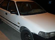 سيارة تويوتا كورولا 92  جير عادي  2جيد  بحالة جيدة  ماتور 1300 سي سي  لون أبيض