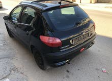 Black Peugeot 206 2004 for sale