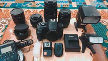 Canon 1300D - Rebel T6i and equipment
