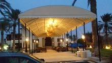 استبرق للمظلات للتفصيل جميع انواع  المظلات السيارات والمنازل  وغيره  وتنجيدهم