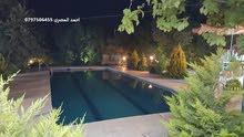 مزرعة مع مسبح للايجار يومي اسبوعي ( احمد المصري 0797506455) ابو نصير