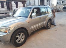 For sale 2002 Gold Pajero