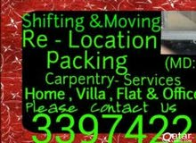 Giving moving and shifting service