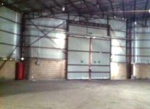للايجار قسيمه صناعيه ومخزن وسرداب for rent stores. warehouses. land and basement