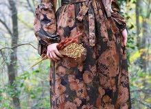 فستان خريفي