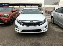 White Kia Optima 2014 for sale