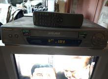 تلفزيون LG  و فيديو باناسونيك شريط كبير