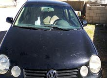 Volkswagen Polo 2003 For sale - Black color