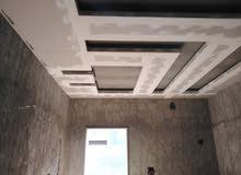 رقم سطا 0925885205 جبس بورد بجميع انواعه و أرضيات خشبيه و  أسقف معلقه بل مواد
