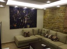 Um Uthaiena neighborhood Amman city - 100 sqm apartment for rent
