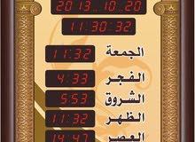 ساعات مساجد جميع الاحجام وبكفاله 5 سنوات/ يتوفر احجام للمنازل