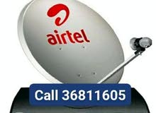 Airtel new dish fixing free Home delivery only 33 bhd without receive