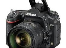 مطلوب كاميرا نيكون d750