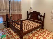 bed for sale with mattress good condition