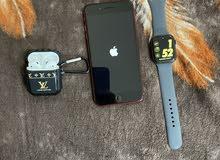 Iphone 8+256GB & Apple Watch 4 nike 44m&airpod 2