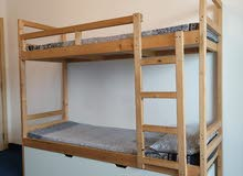 Wooden Bunkbed with medicated mattresses