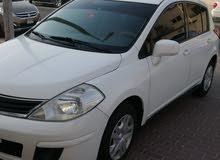 نيسان تيدا موديل 2012 سيارة نضيفة وبحالة جيدة ولله الحمد